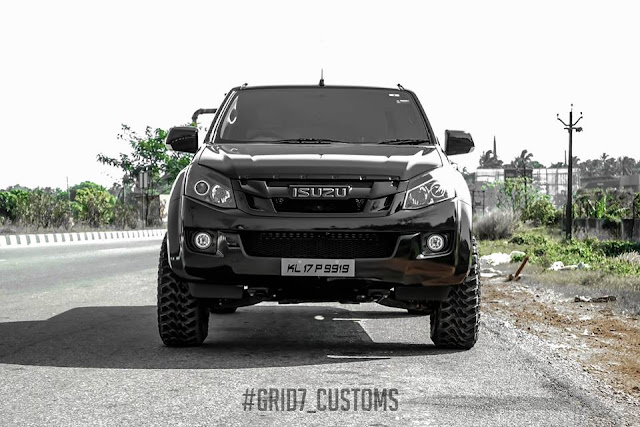 Grid7 customs Isuzu d max