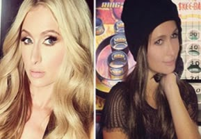 Paris Hilton is not blonde