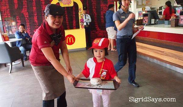 McDonald's Kiddie Crew Workshop and Jollibee Mini Managers Camp