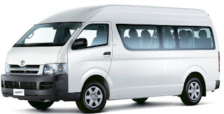 Jasa Sewa Toyota Hiace Jogja Murah Plus Supir dan BBM