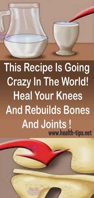 This Recipe Is Going Crazy In The World! Heal Your Knees And Rebuilds Bones And Joints !#NATURALREMEDIES