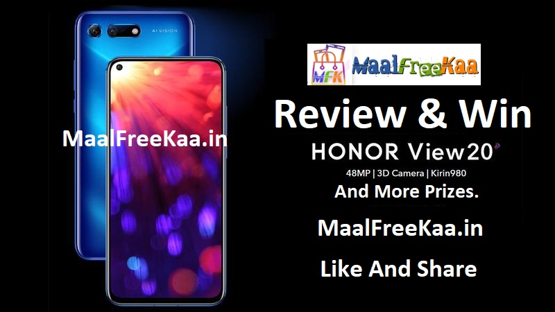 Contest Review Win Honor View 20 Smartphone - Freebie Giveaway