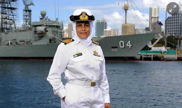 Captain Mona Shindy - Muslim in the Australian Navy