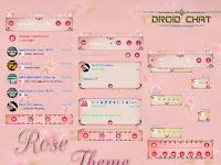 BBM Mod Rose Theme V2.13.1.14 Apk + Clone