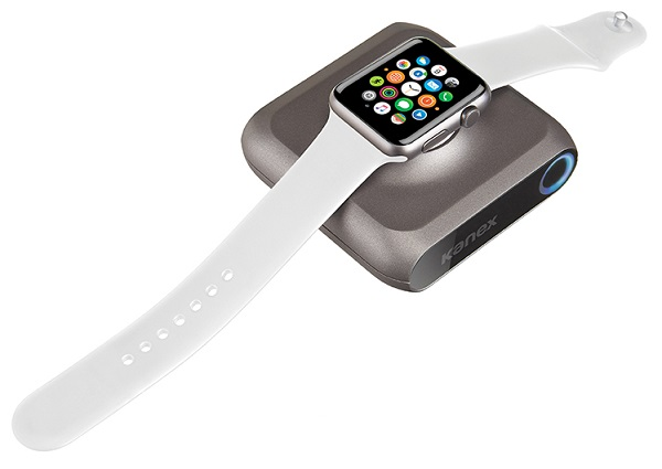 Kanex launches GoPower Watch, world's first cordless portable charger for Apple Watch