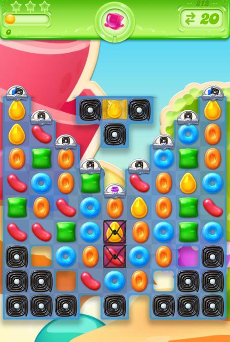 Candy Crush Jelly Saga 212