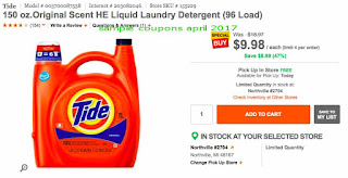 Tide coupons april