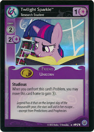 My Little Pony Twilight Sparkle, Research Student Premiere CCG Card