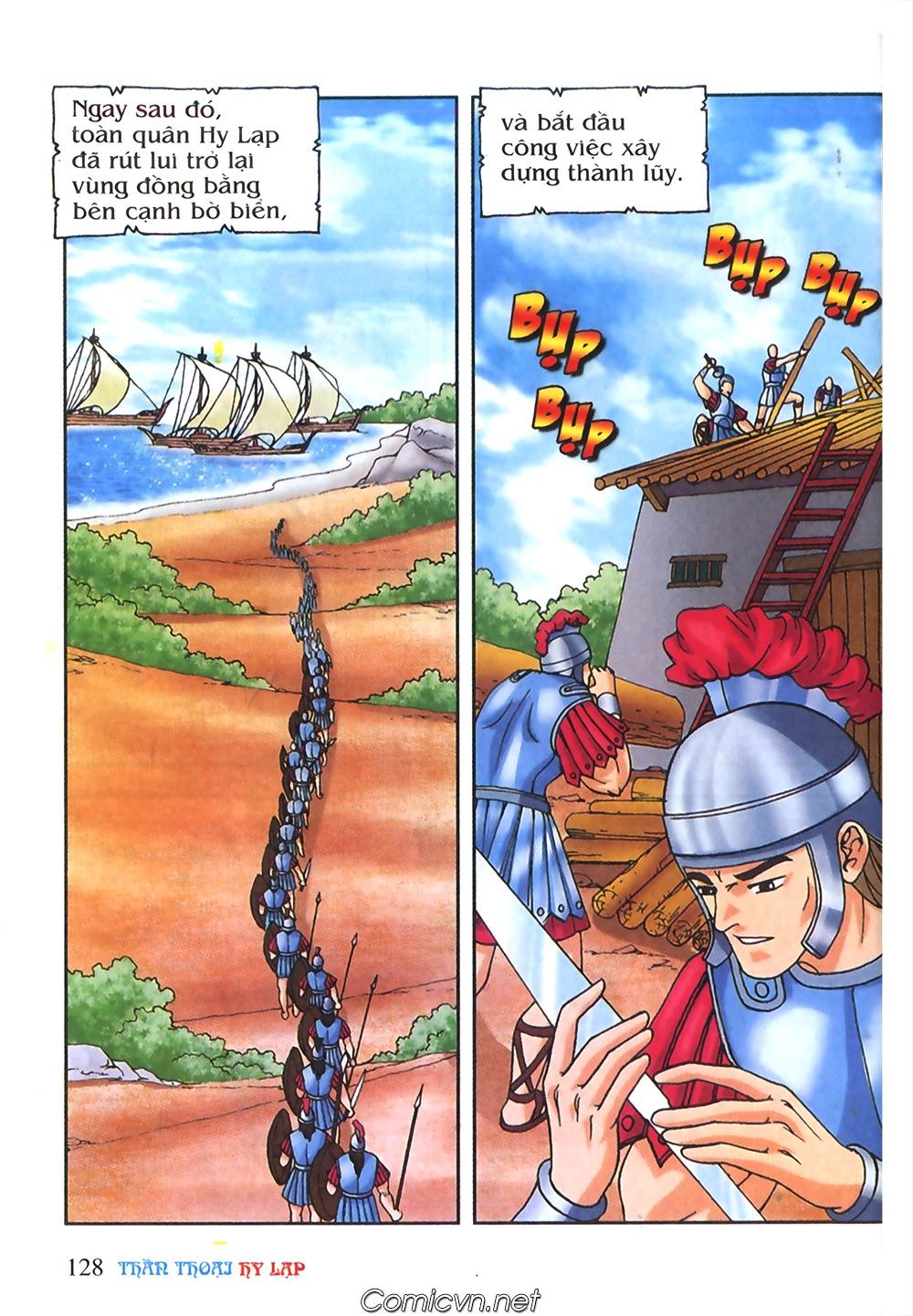 Thần Thoại Hy Lạp Màu - Chapter 55: Trận chiến đầu tiên - Pic 32
