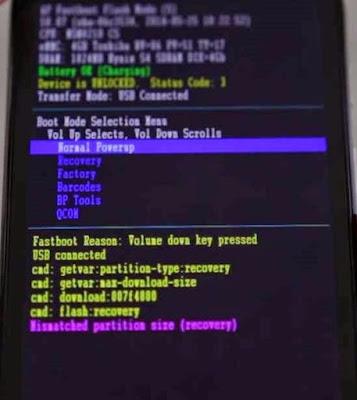 bootloader Moto G 3