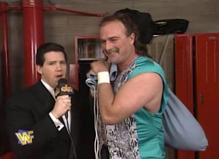 WWF / WWE - In Your House 6 - Todd Pettengill interviews Jake 'The Snake' Roberts