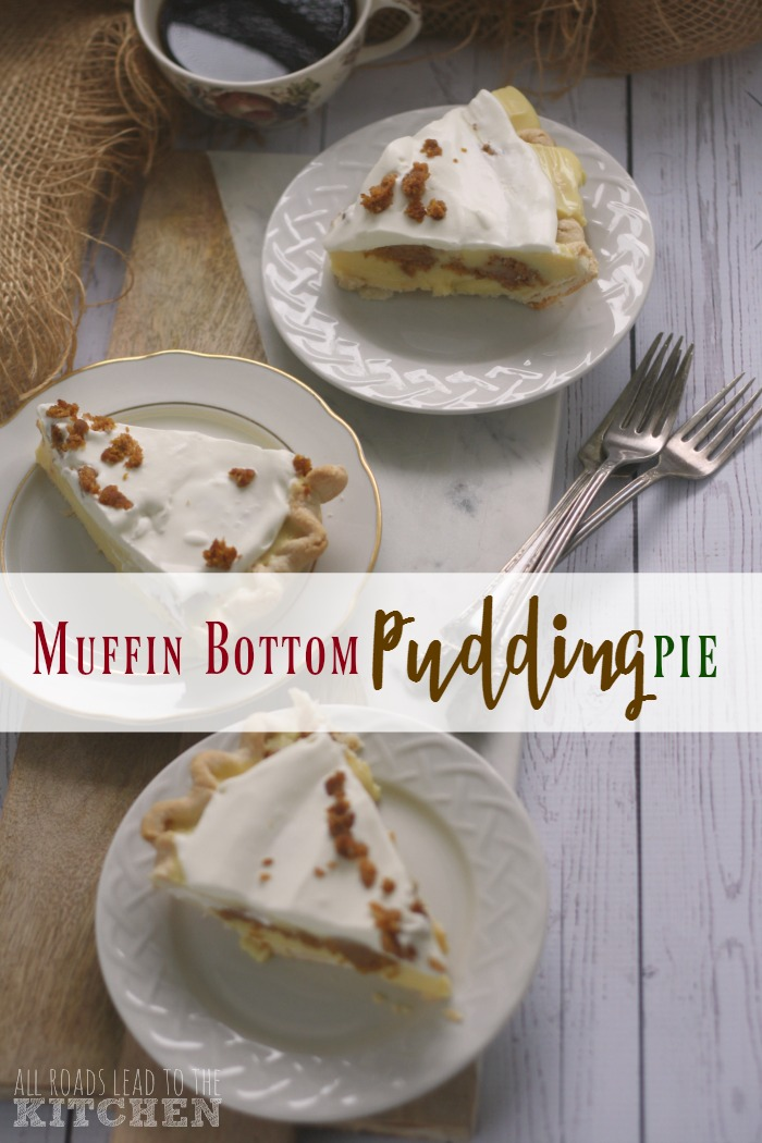 Muffin Bottom Pudding Pie | Gilmore Girls