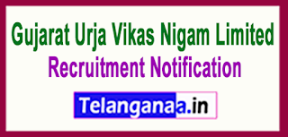 Gujarat Urja Vikas Nigam Limited GUVNL Recruitment Notification 2017Last Date 07-06-2017