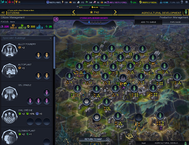 Civilization: Beyond Earth - super developed capitol screenshot