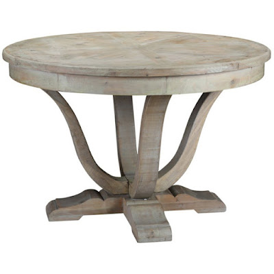 This affordable French farmhouse style table is perfect for smaller spaces.