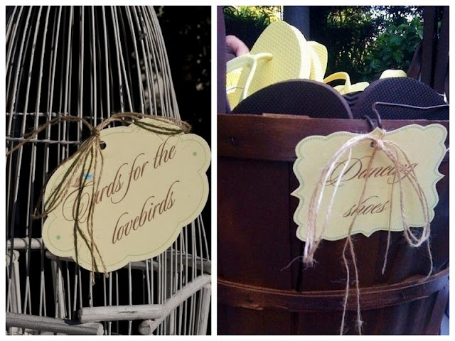 DIY + paper details   vintage california chic wedding of Oh Lovely Day   Photo by Jennifer Roper