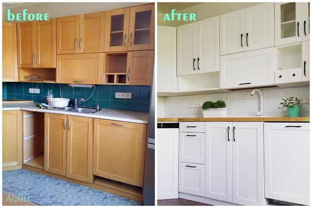Kuchnia przed i po - metamorfoza