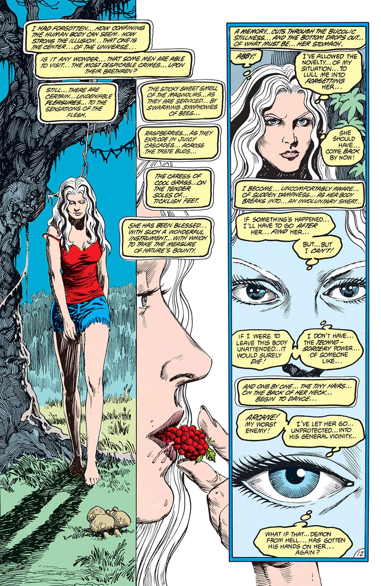 Swamp Thing (1982) Issue #66 #74 - English 12
