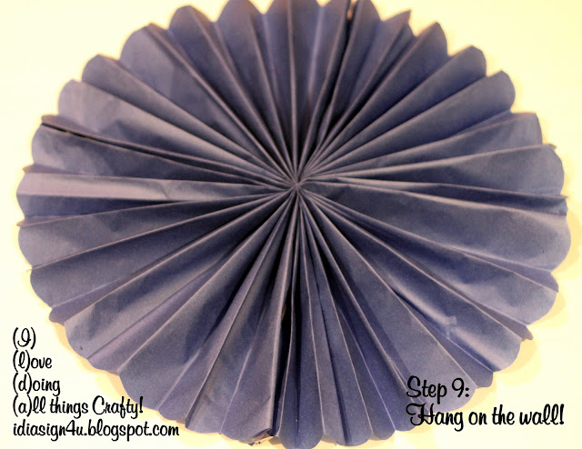 DIY Tissue Paper Rosettes | First Communion Decor by ilovedoingallthingscrafty.com