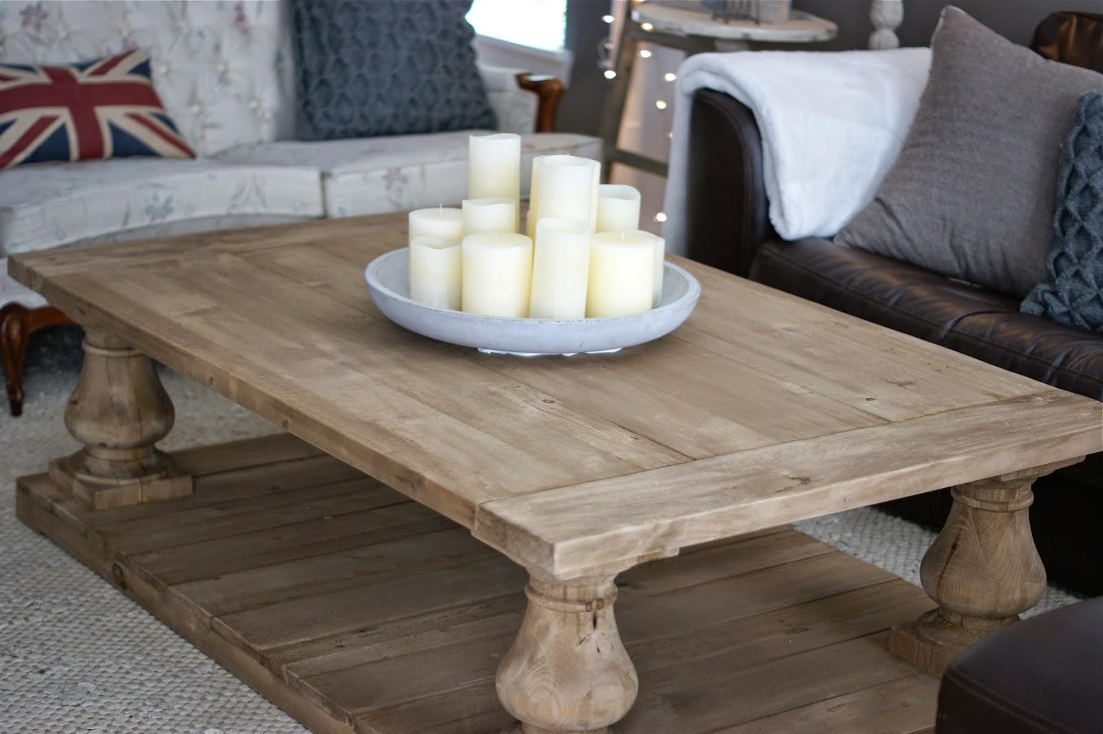 Restoration Hardware Coffee Table.Meggie Frue Meggie Frue At Home Balustrade Coffee Table