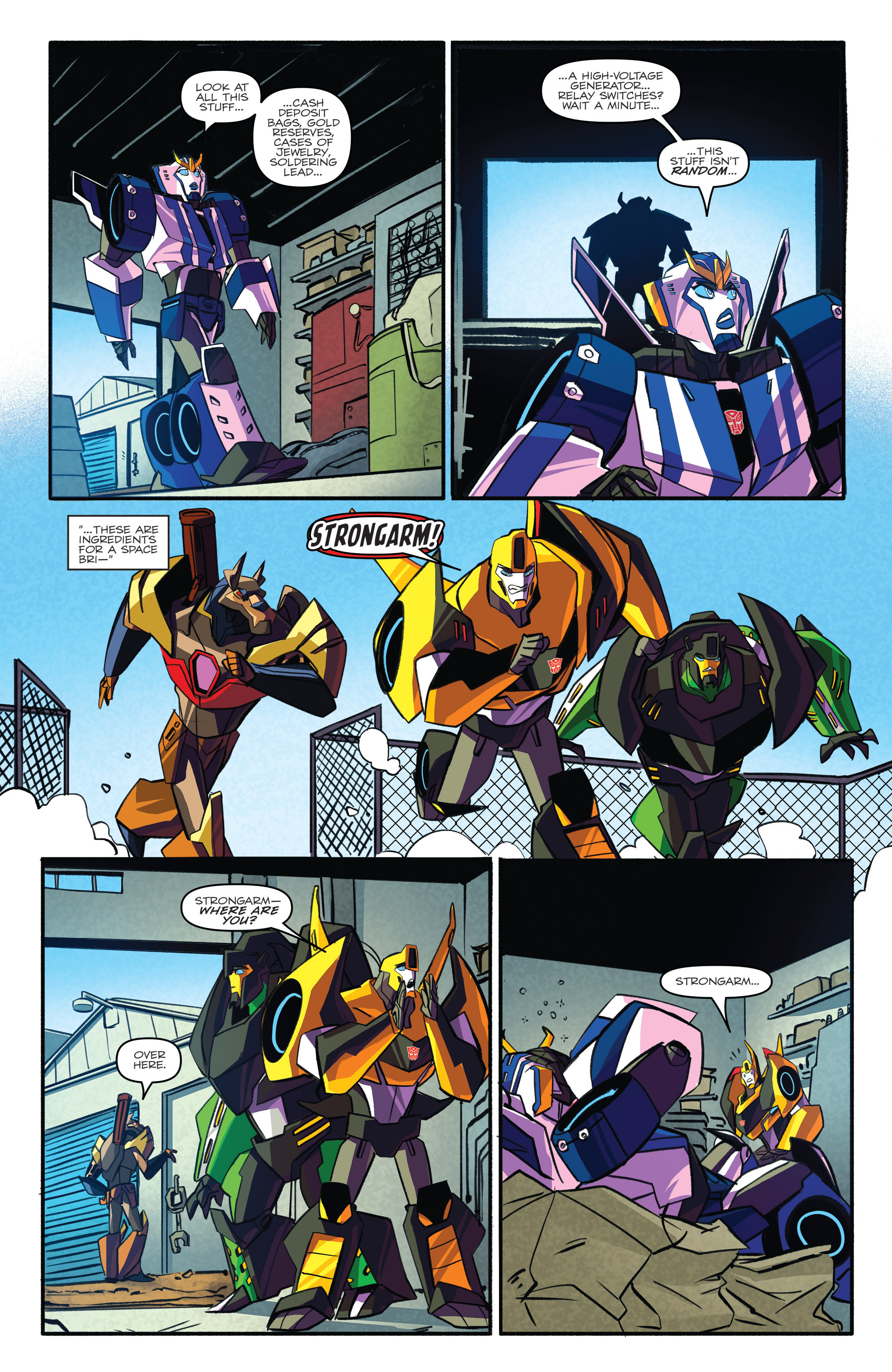 Read online Transformers: Robots In Disguise (2015) comic -  Issue #3 - 22