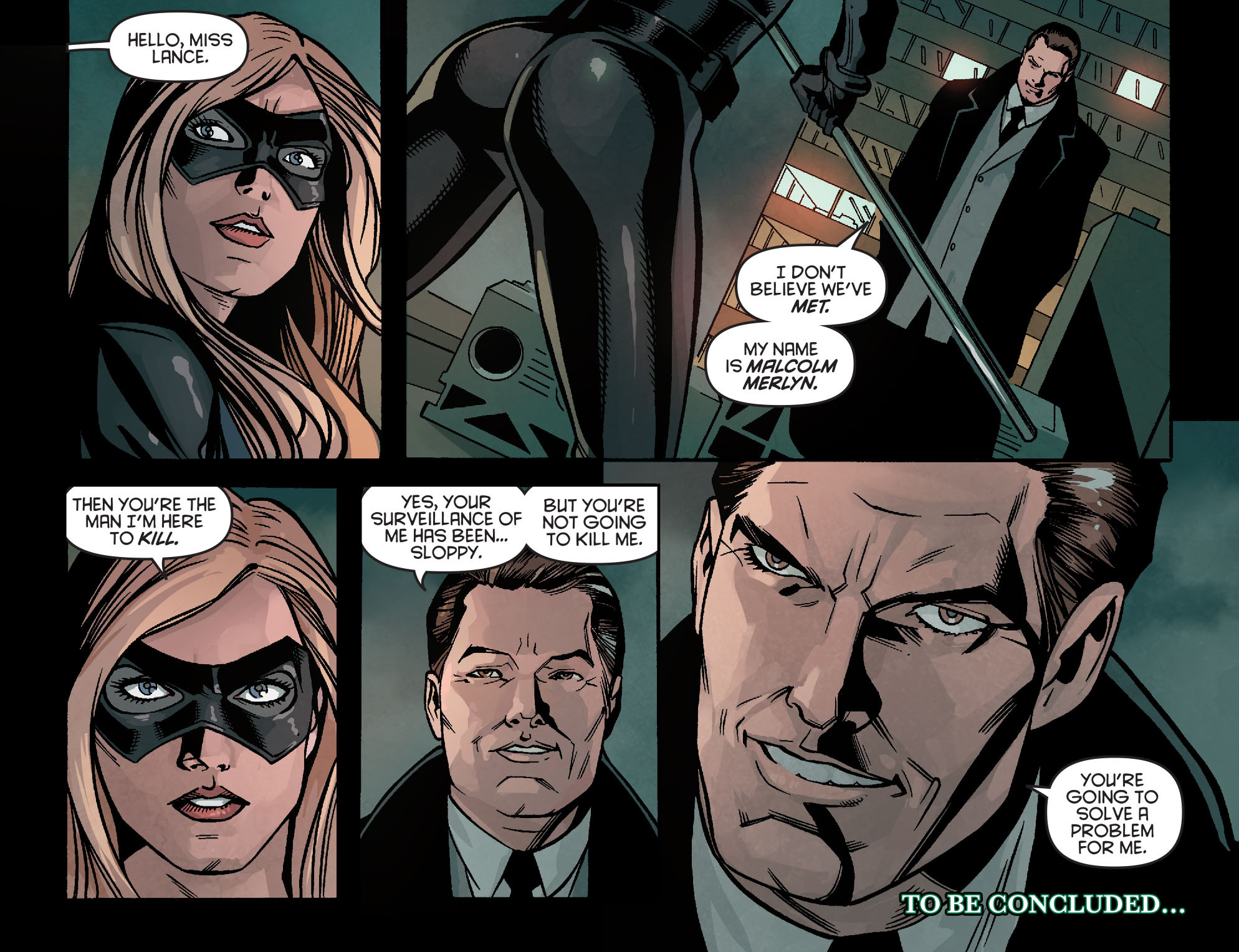 Read online Arrow: Season 2.5 [I] comic -  Issue #23 - 22
