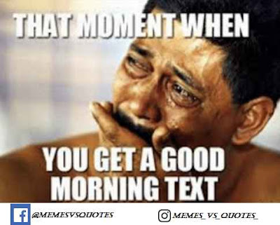 Get a good morning text