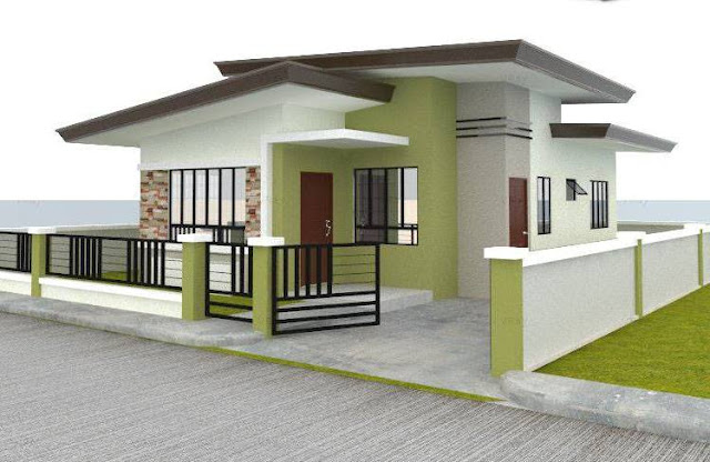 55 Gambar Desain Rumah Minimalis Type 45 Modern Kreatif
