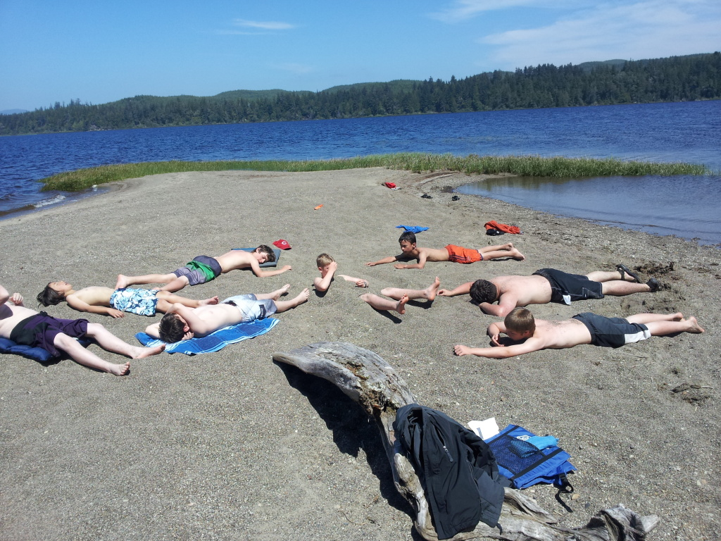 Tivoli Island Lake Ozette Shoreline Area News Troop 853 A Week Long Expedition On