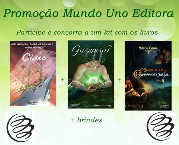 Sorteio Coletivo: Editora Mundo Uno O Gabriel Lucas - #OGL