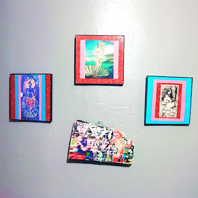 Divine Feminine Shrine Art Wall