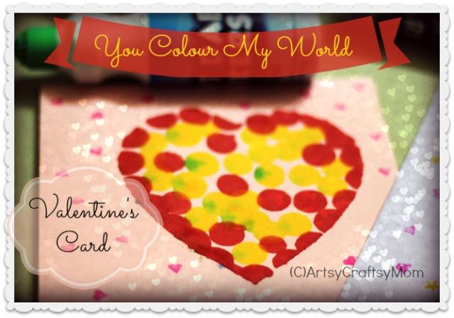 Valentine%27s day card Valentines Day Dot Marker Heart Card lil p and me age5 7 age3 5 age2 3 Valentines Day Crafts