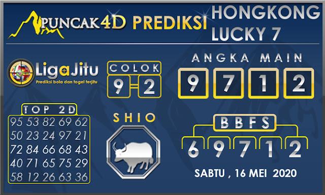 PREDIKSI TOGEL HONGKONG LUCKY 7 PUNCAK4D 16 MEI 2020