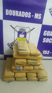 Guarda Municipal de Dourados (MS) detém mulher por Tráfico de Drogas