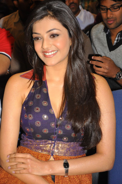 kajal agarwal at businessman platinum disc event, kajal new glamour  images