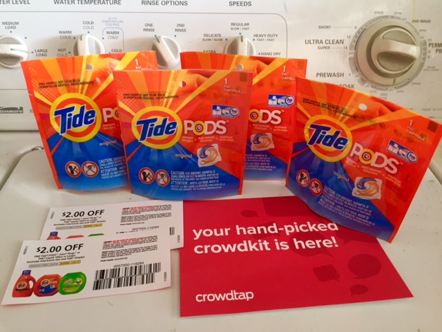 jenn s savings freebies deals free tide pods sample from crowdtap