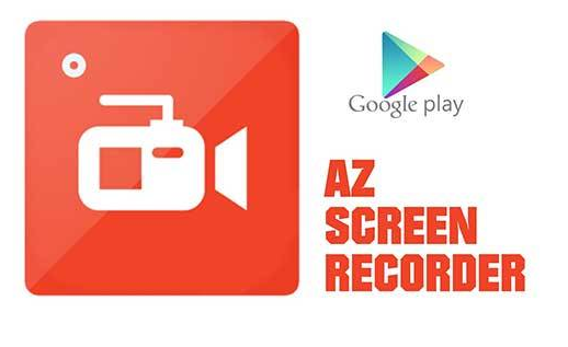 Aplikasi AZ screen recorder