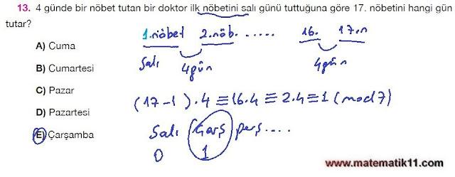 11. Sınıf Matematik Nova Yayınları Ders Kitabı 101. Sayfa İleri Düzey Çözümleri