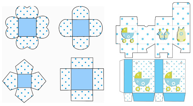 It´s a Boy! Free Printable Boxes.