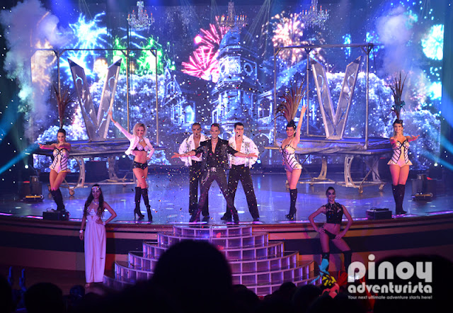 Vincent Vignaud Magic Illusion Show Star Cruises Asia