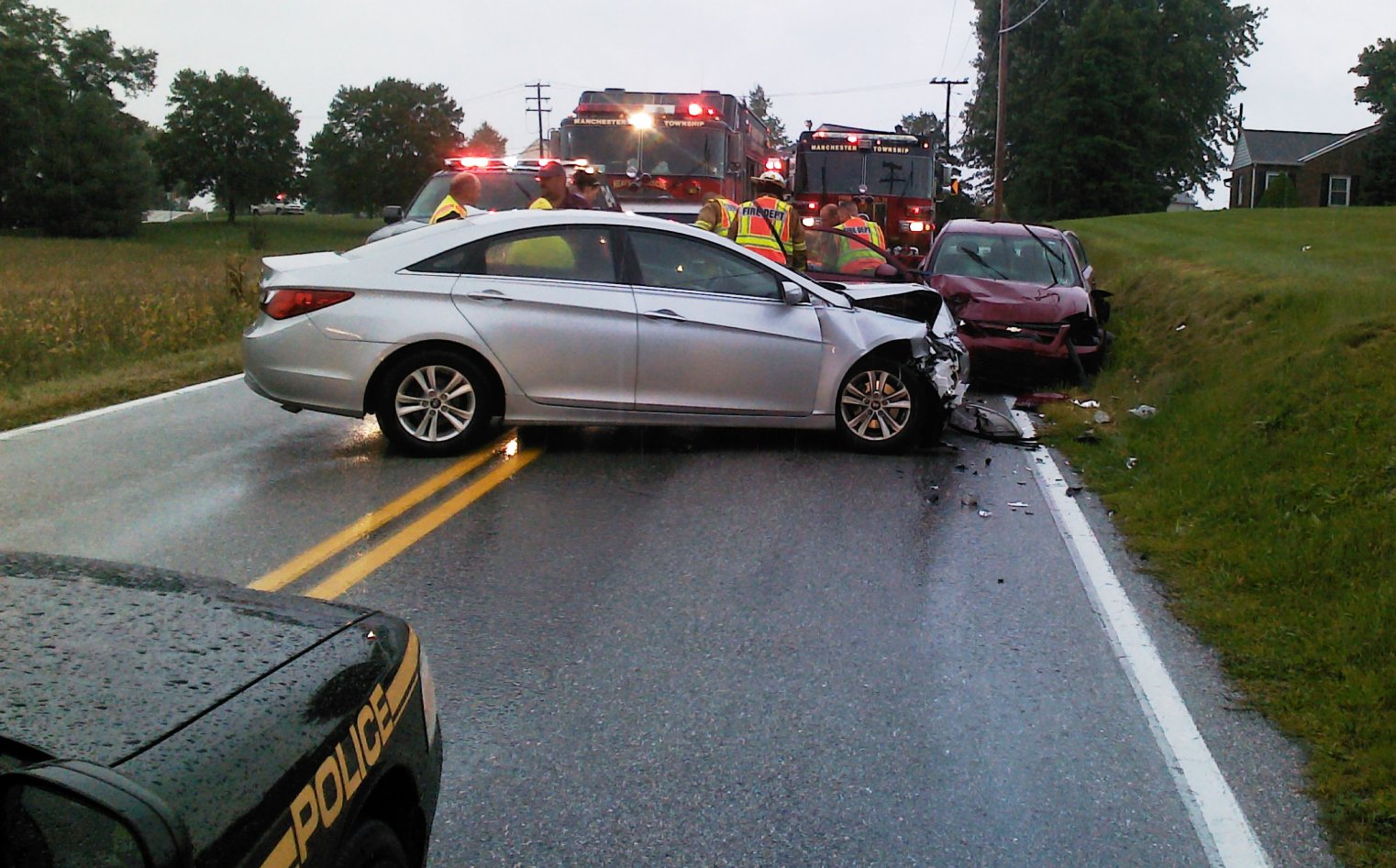 Vehicle Accident News Stories & Articles: One injured in