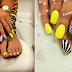 Yellow nails!