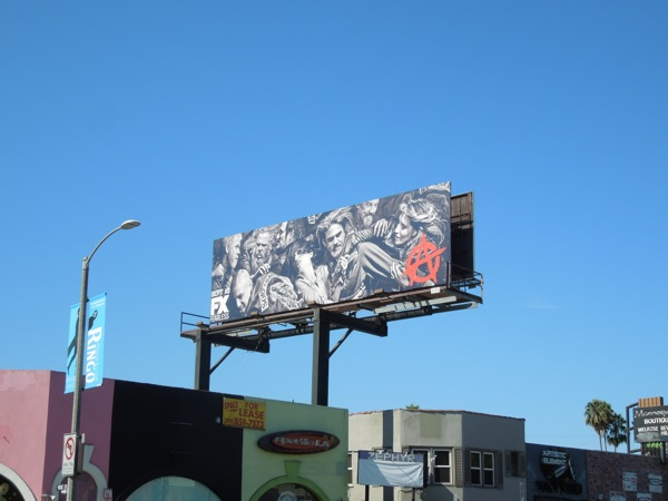 Sons of Anarchy 6 billboard