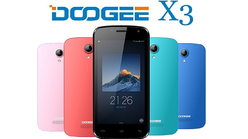 Doogee-X3-Specifications