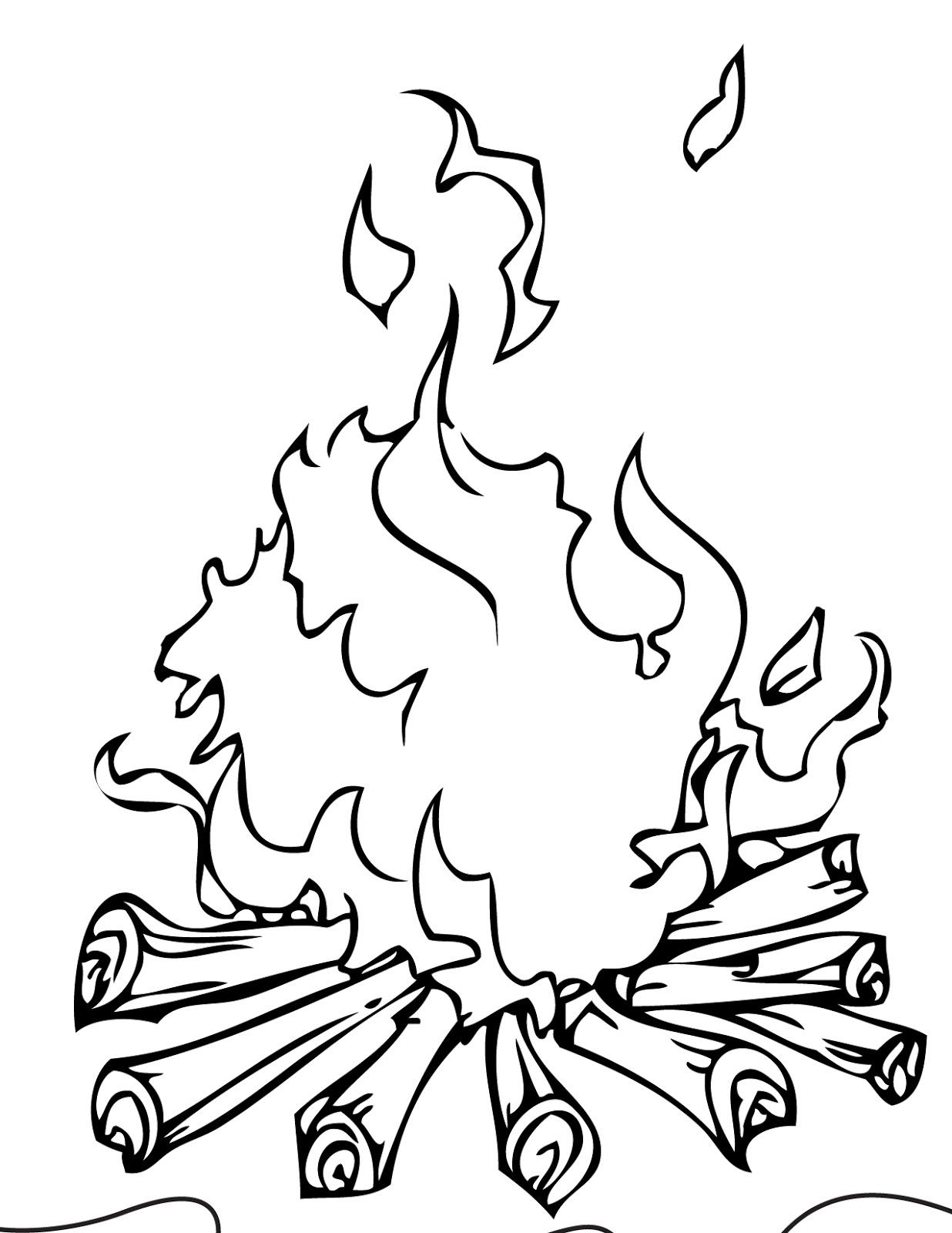 Energi Yang Dihasilkan Saat Api Unggun Menyala Adalah Sahabat Belajar Sd