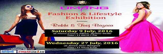 Noida Diary: Umang Rakhi and Teej Bazaar