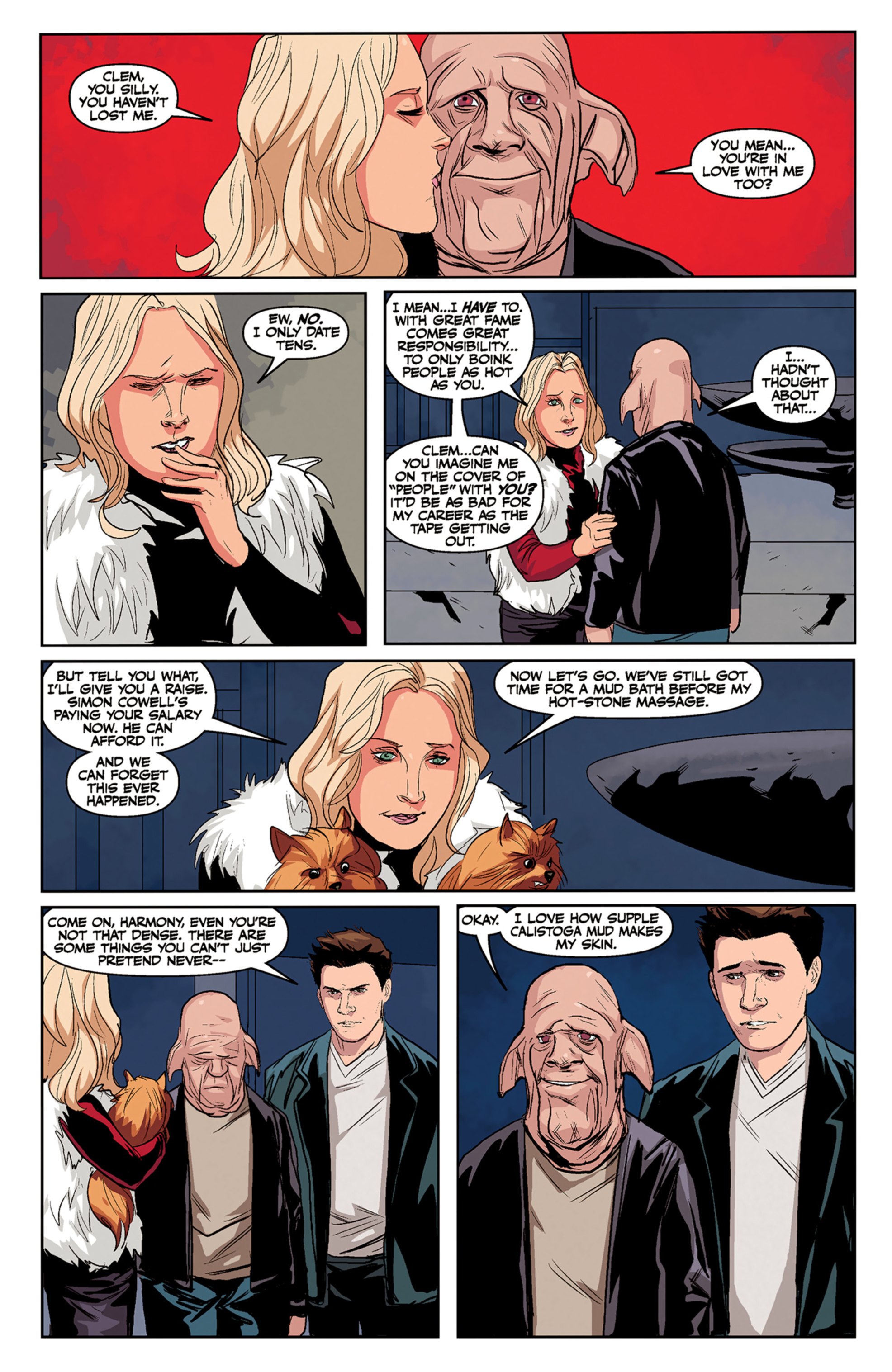 Read online Angel and Faith comic -  Issue #5 - 23
