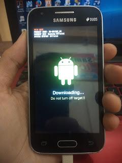Cara Atasi Samsung Galaxy V SM-G313HZ Yang Hang Di Logo Samsung