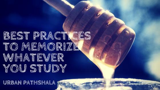 Best way to memorize