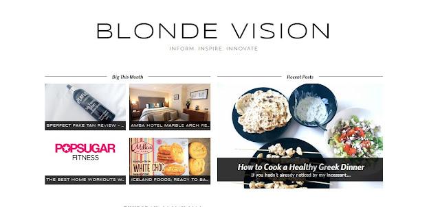 Blonde Vision Blog